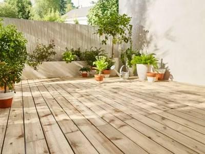 Prparer linstallation dune terrasse en bois  Castorama