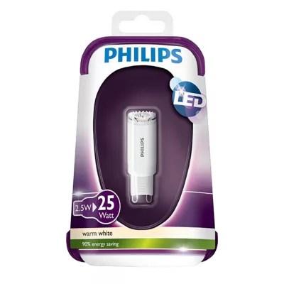 Ampoule Led Reflecteur G9 2 5w 25w Blanc Chaud Castorama