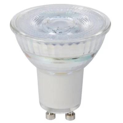 Ampoule Led Reflecteur Gu10 Spot 4 7w 50w Blanc Chaud Castorama