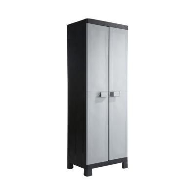 armoire haute resine teorem 4 tablettes l 65 x h 182 x p 45 cm