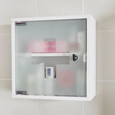 armoire a pharmacie kyoga l 30 x h 30 x p 15 cm
