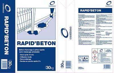 Beton Pret A L Emploi Rapid Beton 30kg Castorama