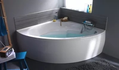 baignoire d angle 140 x 140 cm form oxygen