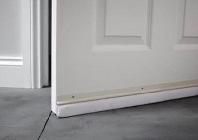 bas de porte sol irregulier diall blanc l 93 cm