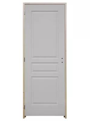 bloc porte post forme 3 panneaux td 73 cm poussant gauche