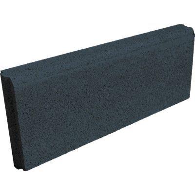 bordure droite noire 50 x 20 cm ep 5 cm
