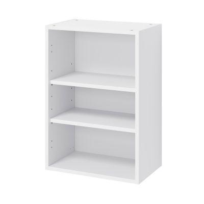 caisson haut de cuisine goodhome caraway blanc h 72 cm x l 50 cm