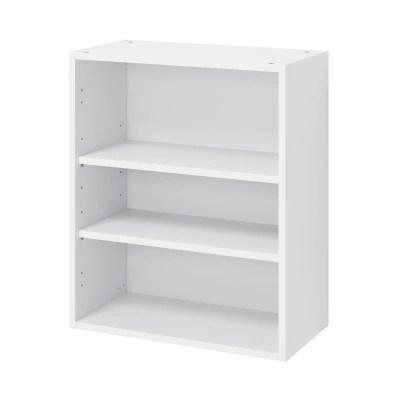 caisson haut de cuisine goodhome caraway blanc h 72 cm x l 60 cm