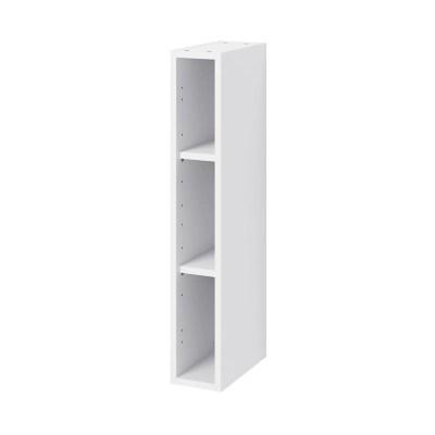 caisson haut de cuisine goodhome caraway blanc h 90 cm x l 15 cm
