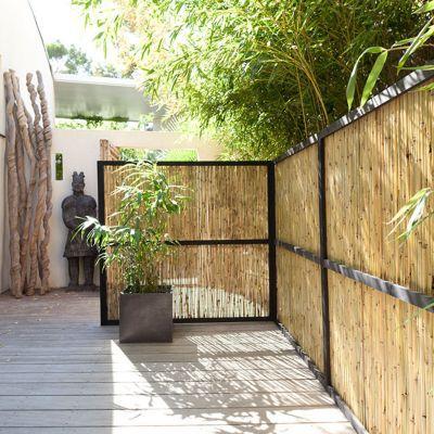 canisse bambou flexible naturel 3 x h 1 5 m
