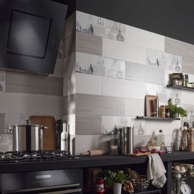 carrelage mur blanc 20 x 60 cm odazzi