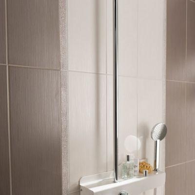 carrelage mur ivoire 20 x 50 cm nikko