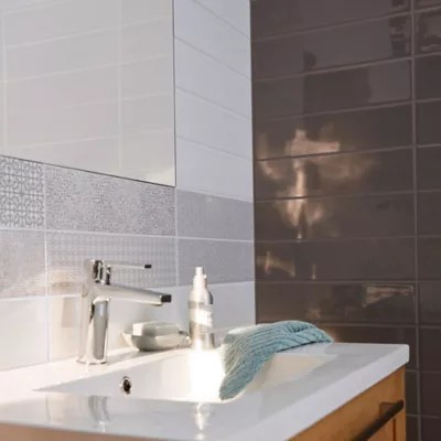 carrelage mur little italy blanc 10 x 40 cm