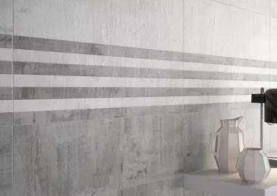 carrelage mural blanc 25 x 75 cm litori