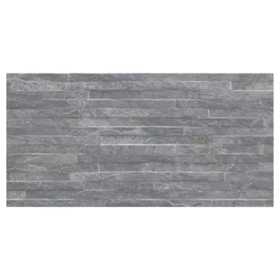 carrelage mural decoratif 30x60 cm anthracite