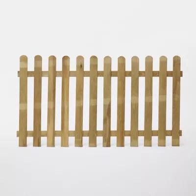 cloture bois blooma mekong vert 180 x h 100 cm