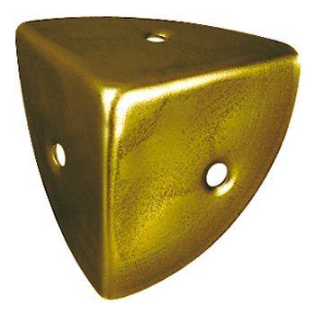 coin de caisse 3 faces diall en acier laitonne l 30 mm 4 pieces
