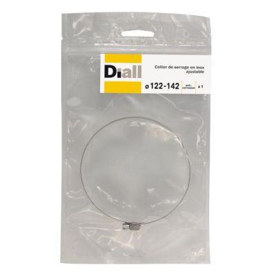 Collier De Serrage Diall Inox L14 X O122 142 Mm Castorama