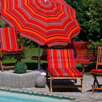 coussin de bain de soleil marbella raye 190 x 60 cm