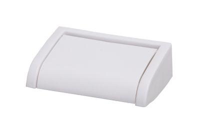 derouleur de papier toilette plastique blanc palmi