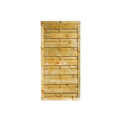 demi panneau bois droit blooma onora 90 x h 180 cm