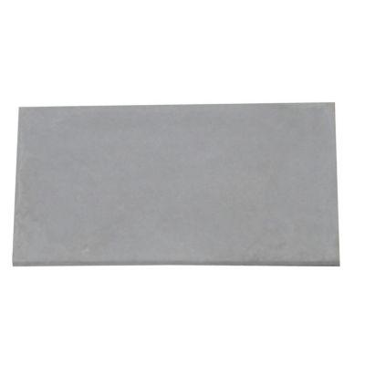 demi plaque de cloture en beton pleine 96 x 50 cm