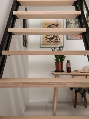 Escalier Droit Pop Avec Rampe Castorama