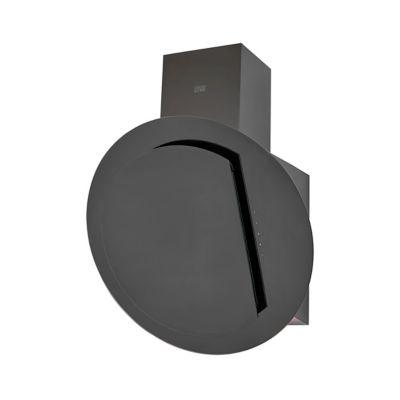 hotte inclinee ronde en verre cooke lewis clrgb60 60 cm