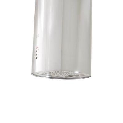 hotte ilot ronde inox cooke lewis clrois30 35 cm