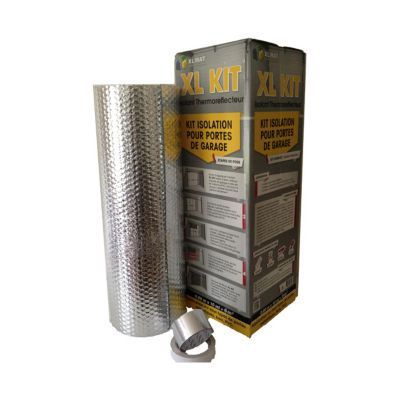 Kit Isolation Porte De Garage 6 M Castorama