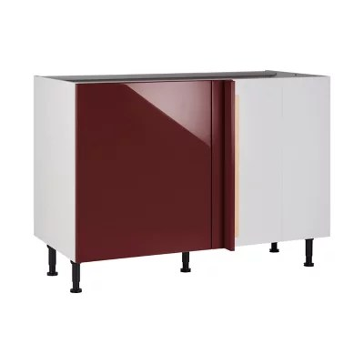 meuble de cuisine gossip marsala d angle facade 1 porte kit fileur caisson bas l 60 cm