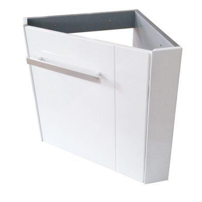 meuble lave mains d angle blanc cooke lewis levyne