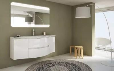 Meuble Sous Vasque Cooke Lewis Blanc Vague 138 Cm Complement Gauche Et Droit Plan Vasque En Resine Castorama