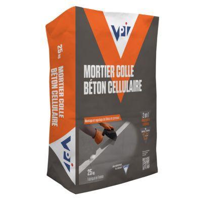 mortier colle beton cellulaire 25 kg