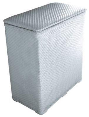 Panier A Linge Plastique Blanc Castorama