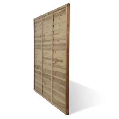 panneau bois droit blooma salouen 183 x h 150 cm