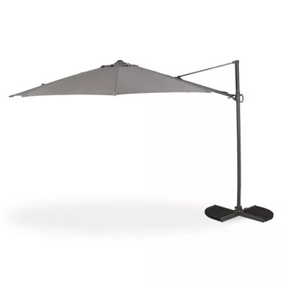 parasol deporte blooma mallorca anthracite o350 cm