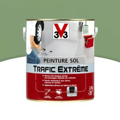 peinture sol int ext trafic extreme vert mousse 2 5 l