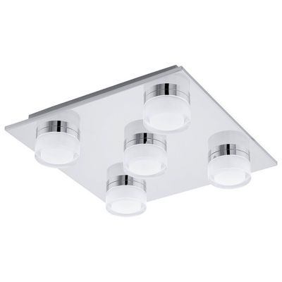Plafonnier Salle De Bains Led Colours Alimia Chrome Ip44 Castorama