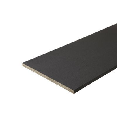 plan de travail gris 180 x 60 cm ep 28 mm