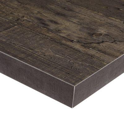 plan de travail ilot stratifie aspect bois plamky 100 x 184 cm ep 38 mm vendu a la piece