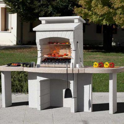 plan de travail pour barbecue fixe blooma makalu
