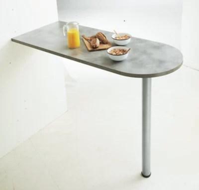 plan de travail snack copperfield gris 1800 x 620 x 28 mm