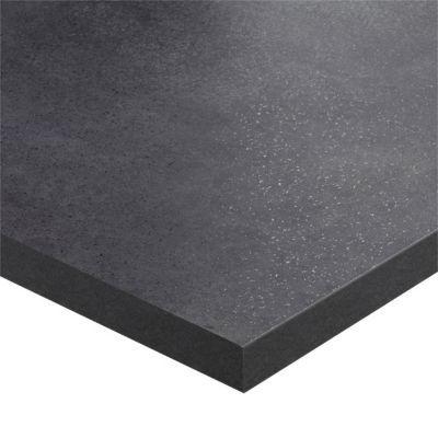 plan de travail stratifie gris fonce hydrofuge mika 208 x 65 cm ep 38 mm vendu a la piece