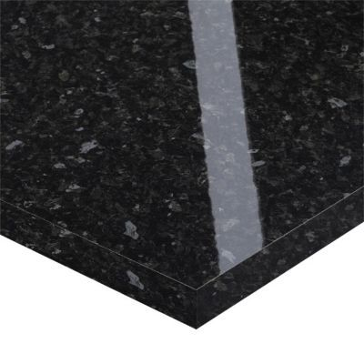plan de travail stratifie noir hydrofuge everest 320 x 65 cm ep 38 mm vendu a la piece