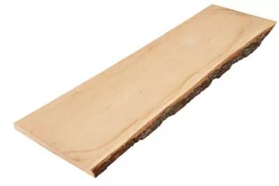 planche chene brut 120 x 30 cm ep 25 mm