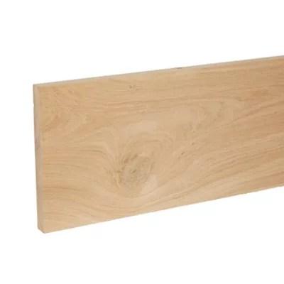 planche rabotee chene 180 x 20 mm l 2 m