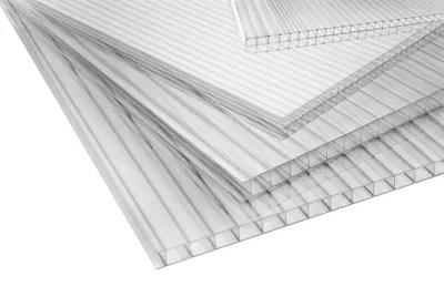 Plaque Alveolaire Polycarbonate Transparent 200 X 100 Cm Ep 4 Mm Vendue A La Plaque Castorama