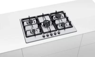 plaque de cuisson au gaz bosch pgq7b5b90 5 foyers