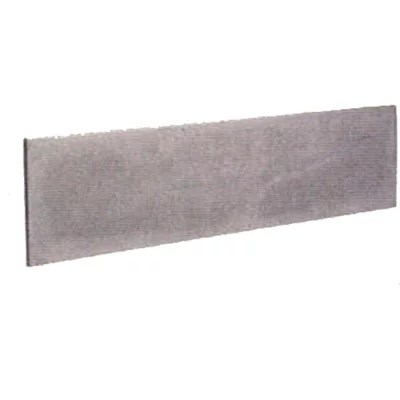 plaque simple murette 50 x 3 3 x 192 cm gris